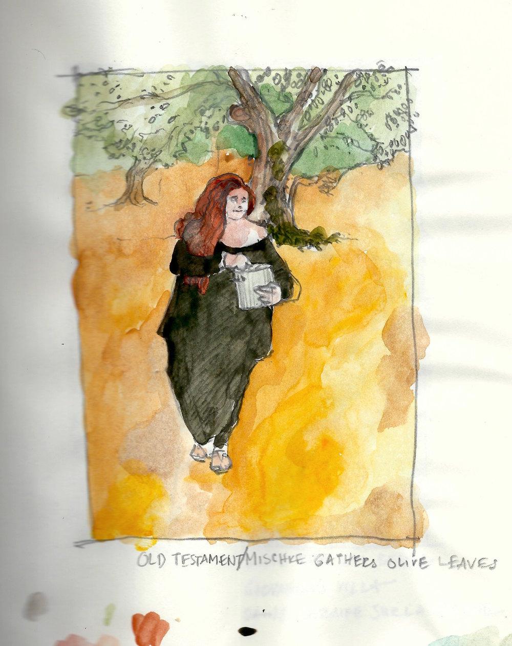 Old Testament:Mischke Gathers Olive Leaves.jpeg