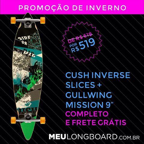 Nossa promoção de Inverno continua! Super descontos por todo o mês de Julho! Confira em www.meulongboard.com.br!