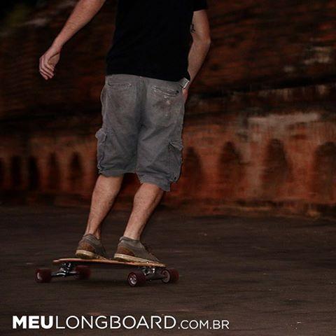 Vento na Cara e um Longboard no pé!