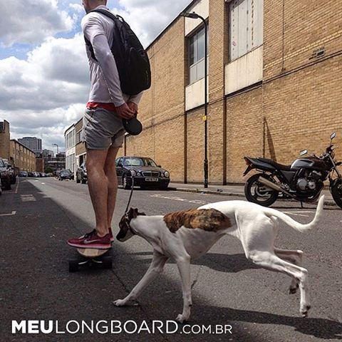 Longboard é mais legal em boa companhia!