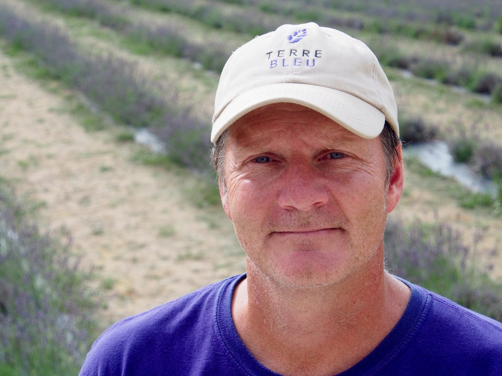 Ian Baird - a lavender farmer in a cold country.