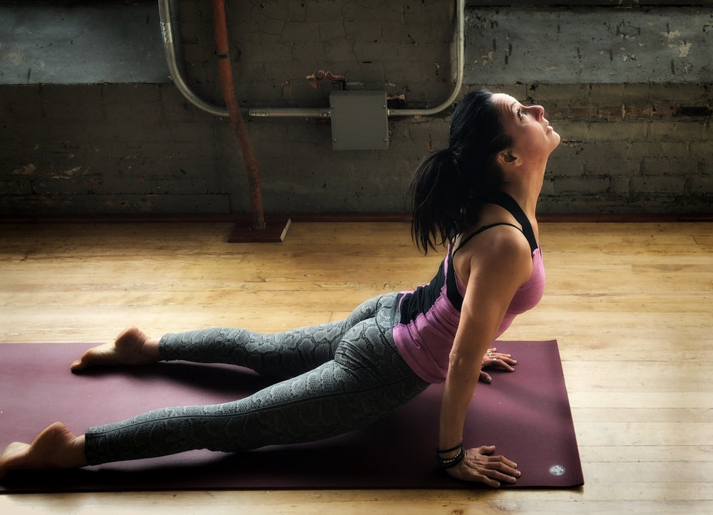Kelly Hilton, a yogi at Aviva Yoga aims to serve community on and off the mat.