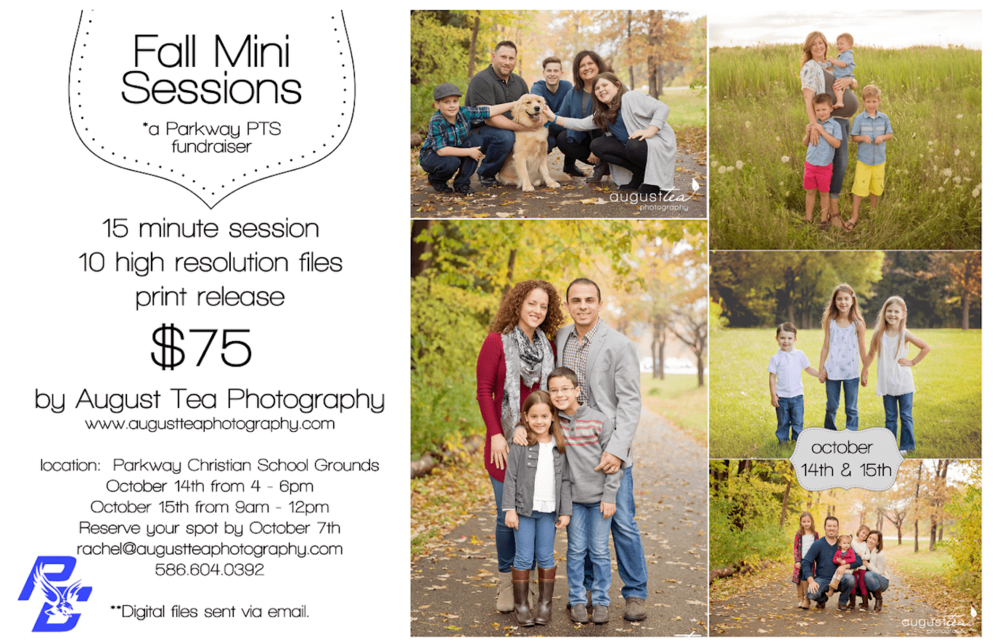 Parkway PTS Fundraiser - Fall Mini Sessions