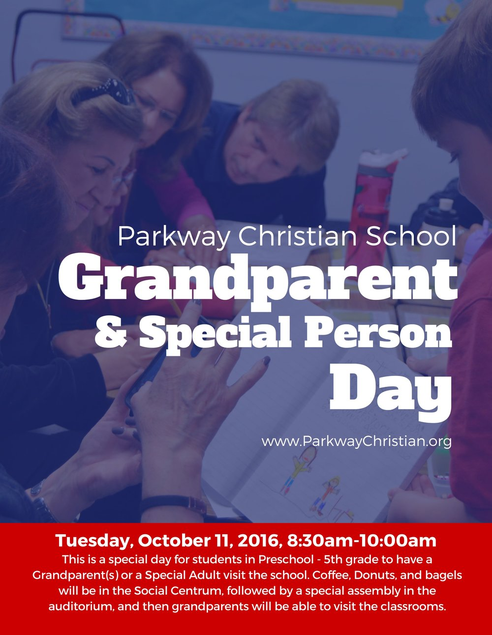 Parkway Christian School Grandparent & Special Person Day