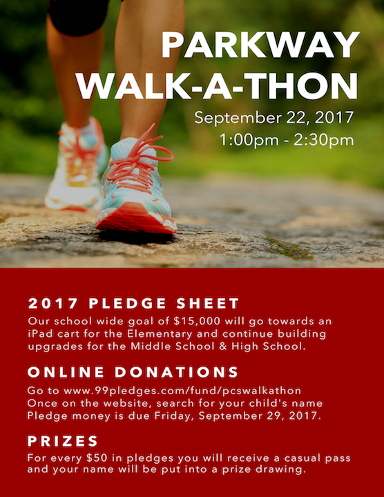 Parkway Christian School - Walk-A-Thon