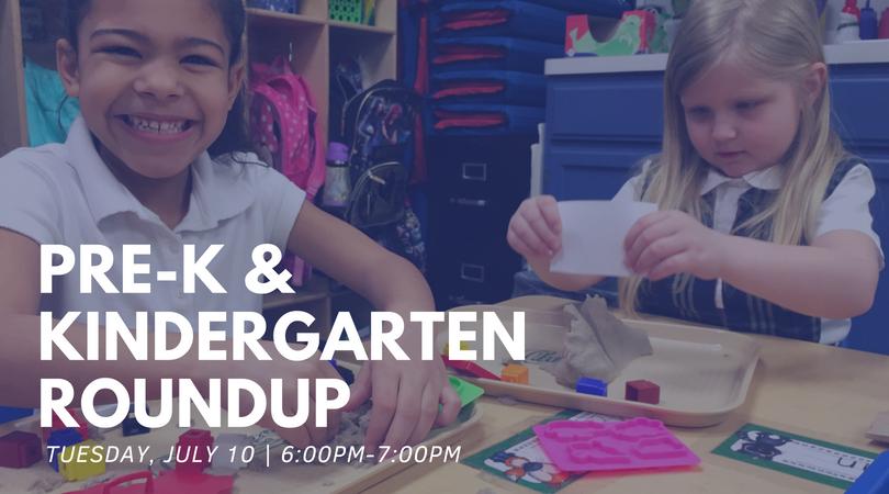 Parkway Christian School - Pre-K & Kindergarten Roundup