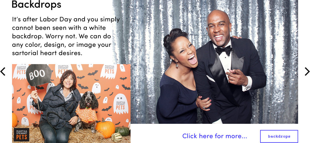 Smilebooth Backdrops