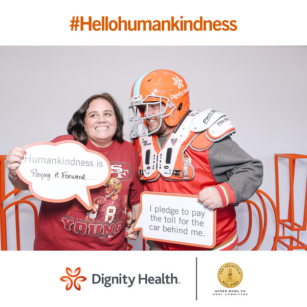 Super Bowl City Dignity Health