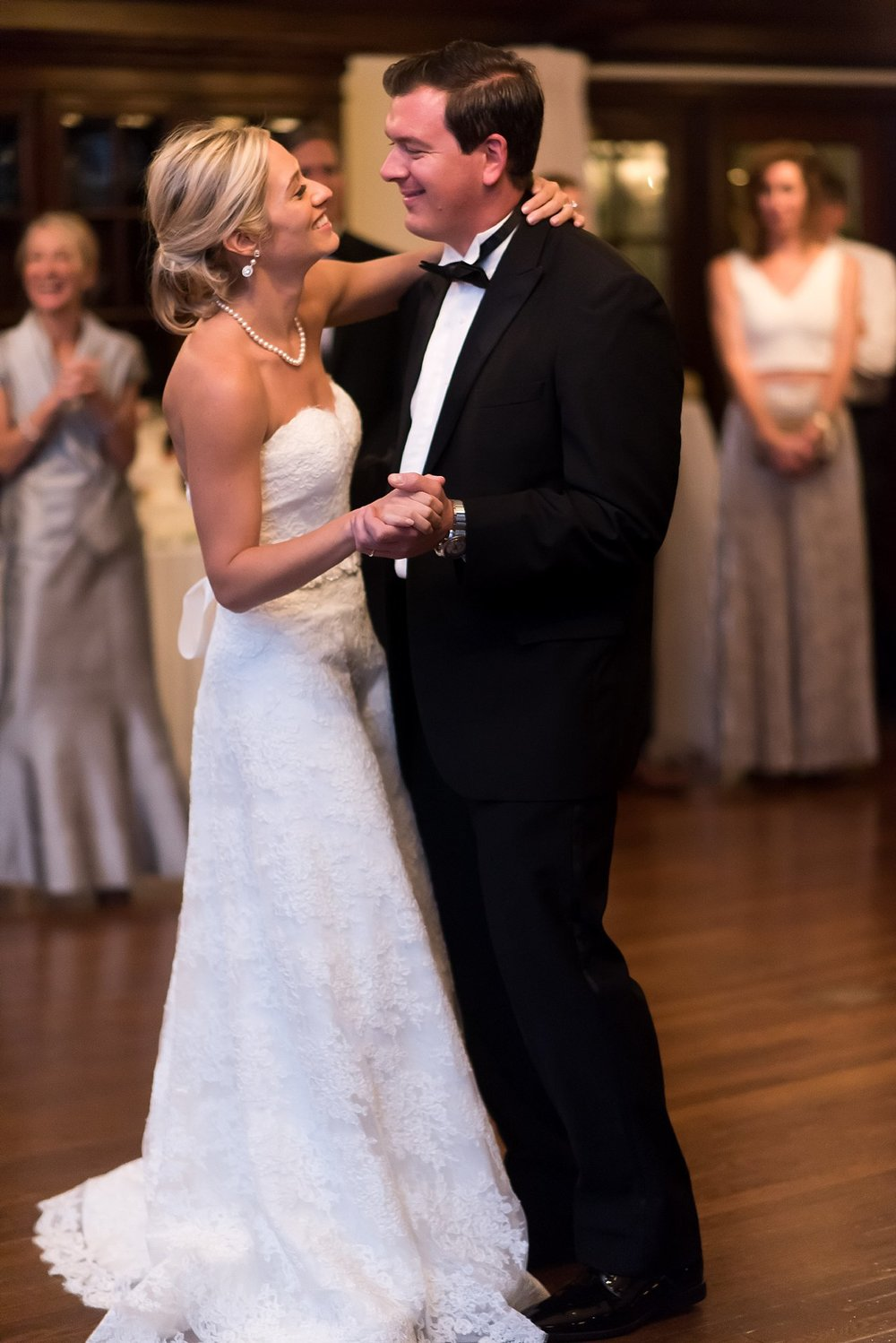 bride and groom first dance at longmeadow country club.jpg