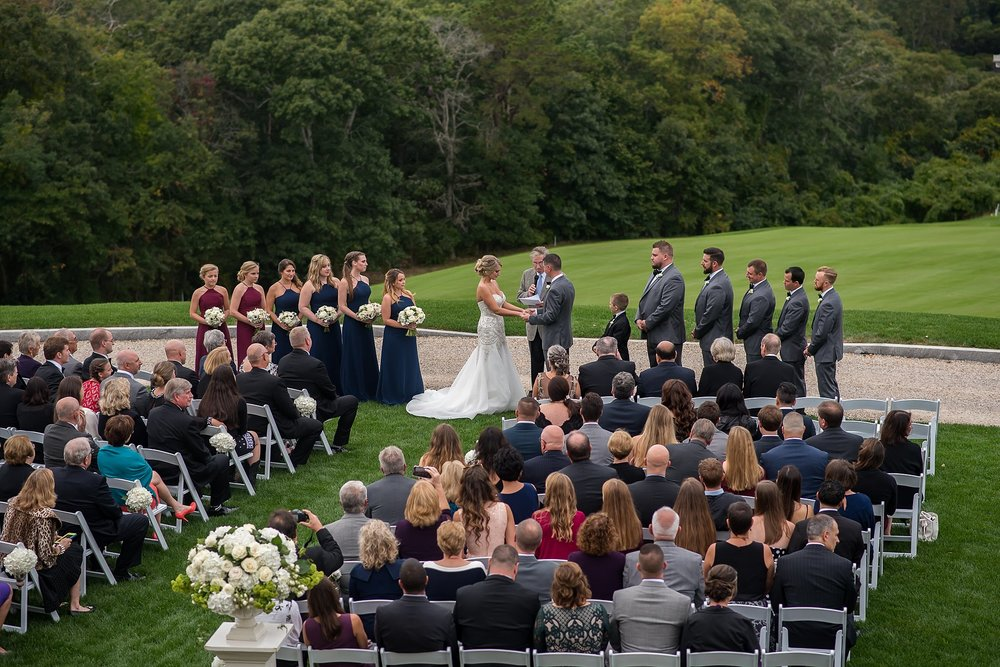 outdoor ceremony at woods hole country club.jpg