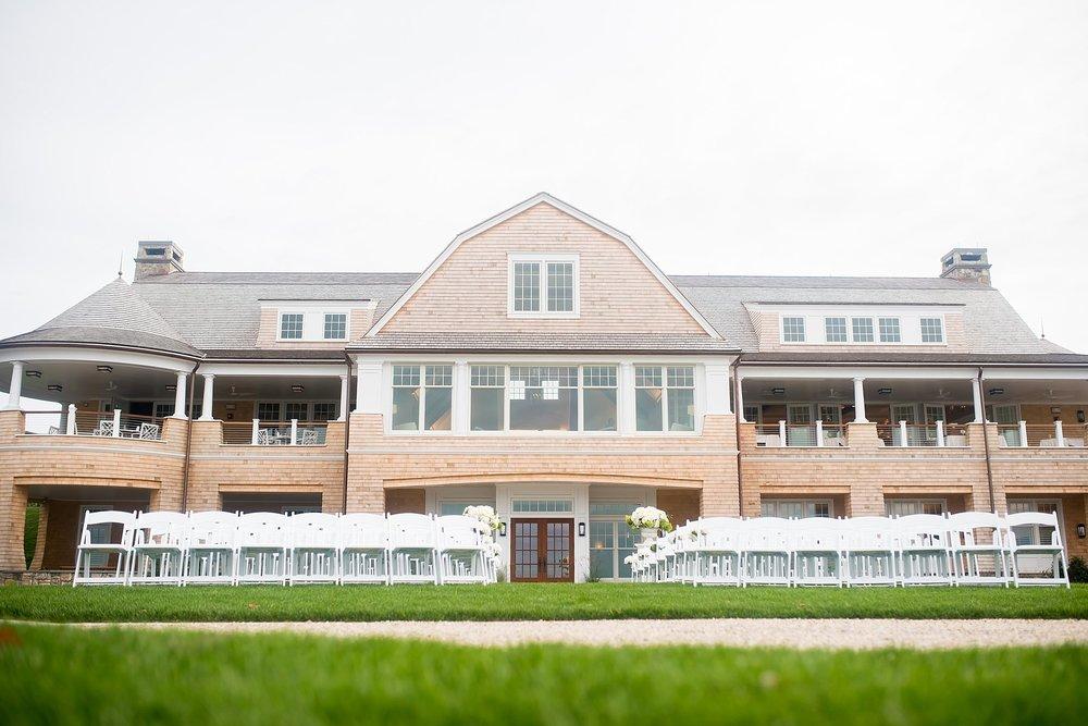 Intimate Woods Hole Golf Club Wedding | Second Shooting