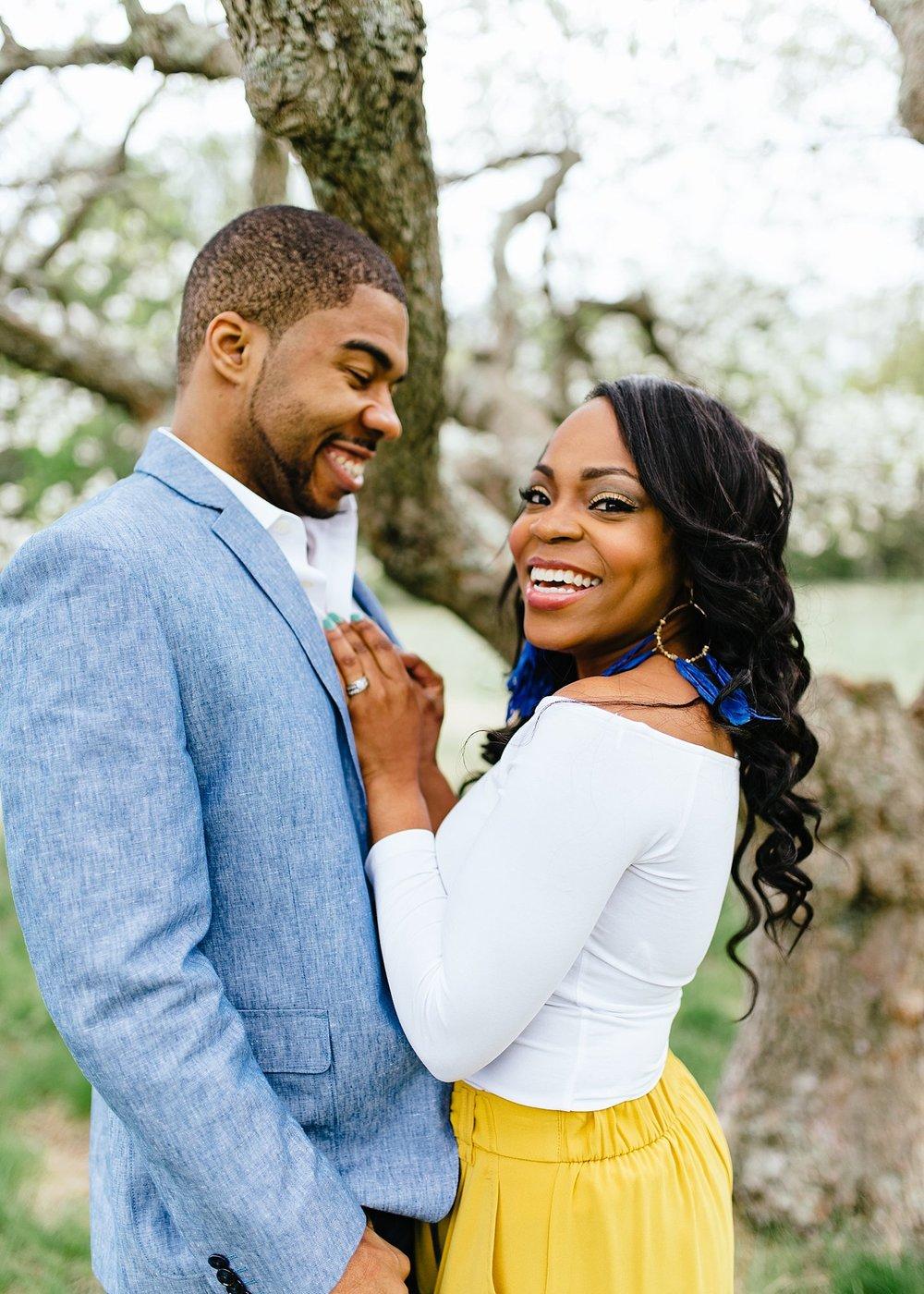 Engagement photos in Boston