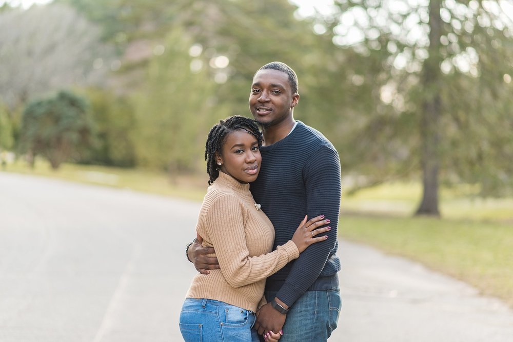 Surprise engagement photographer in Boston