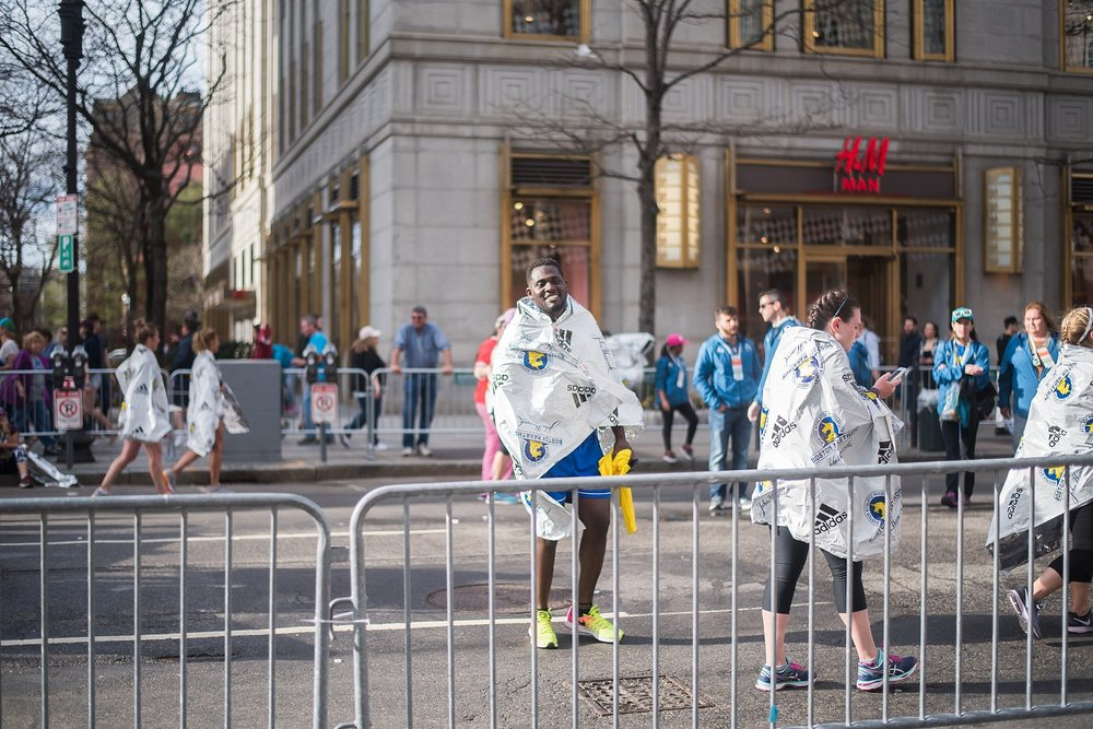Completing the Boston Marathon