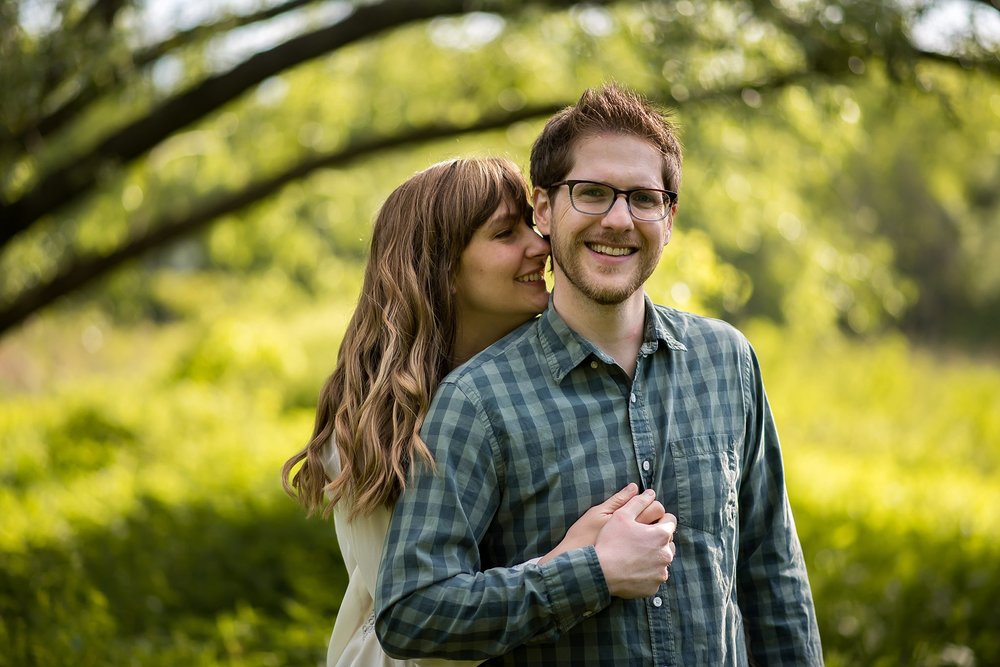 Boston engagement photography Arnold Arboretum
