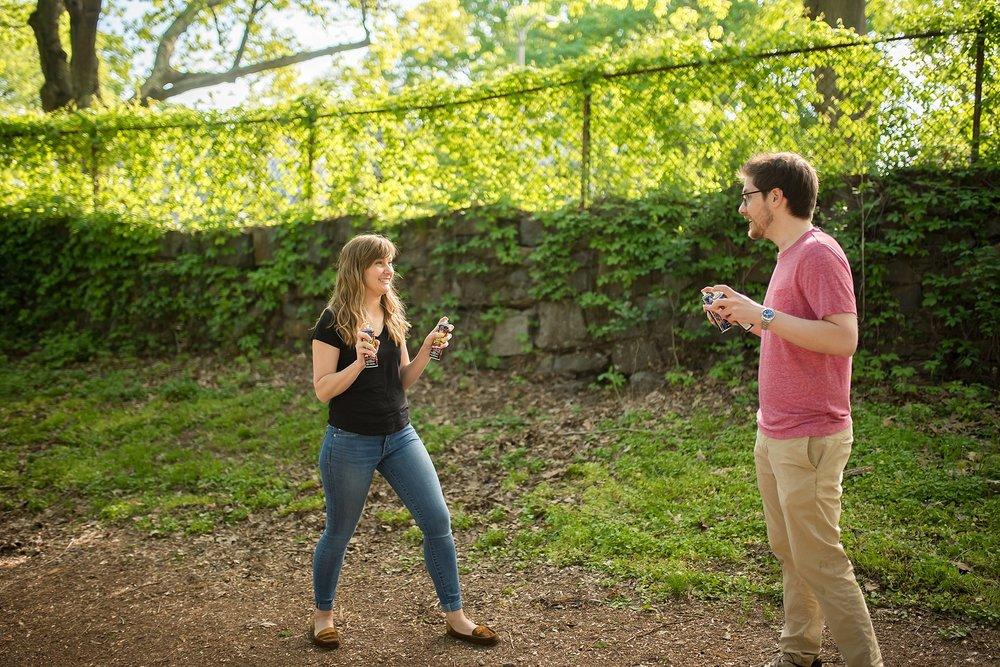 Arnold Arboretum Engagement session