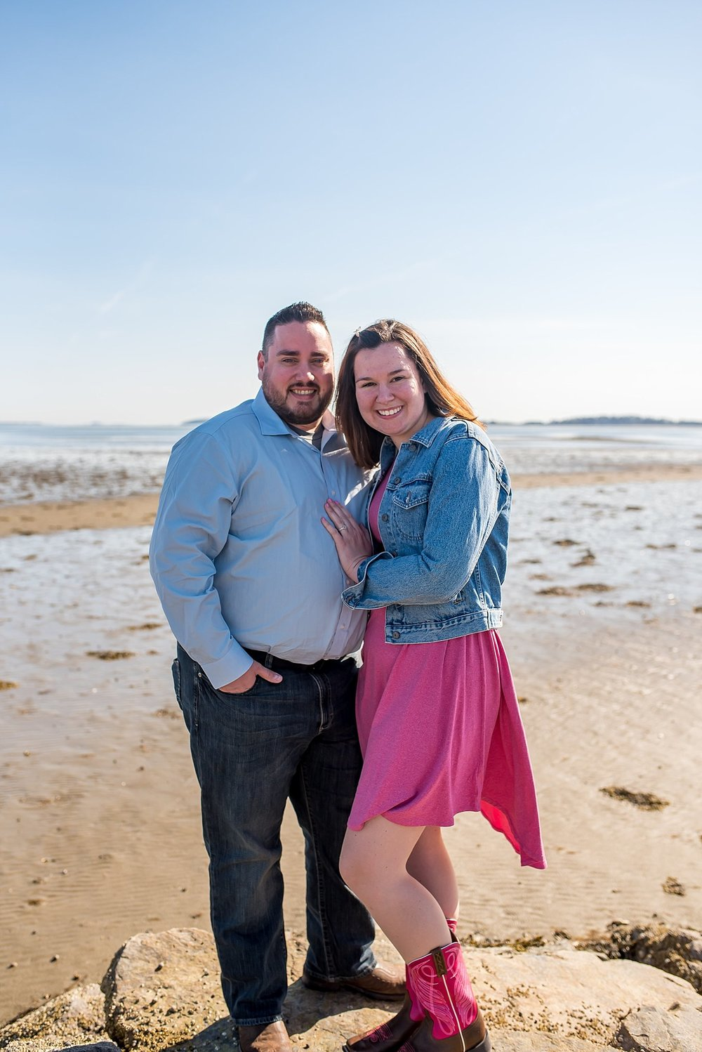 Wollaston Beach engagement session
