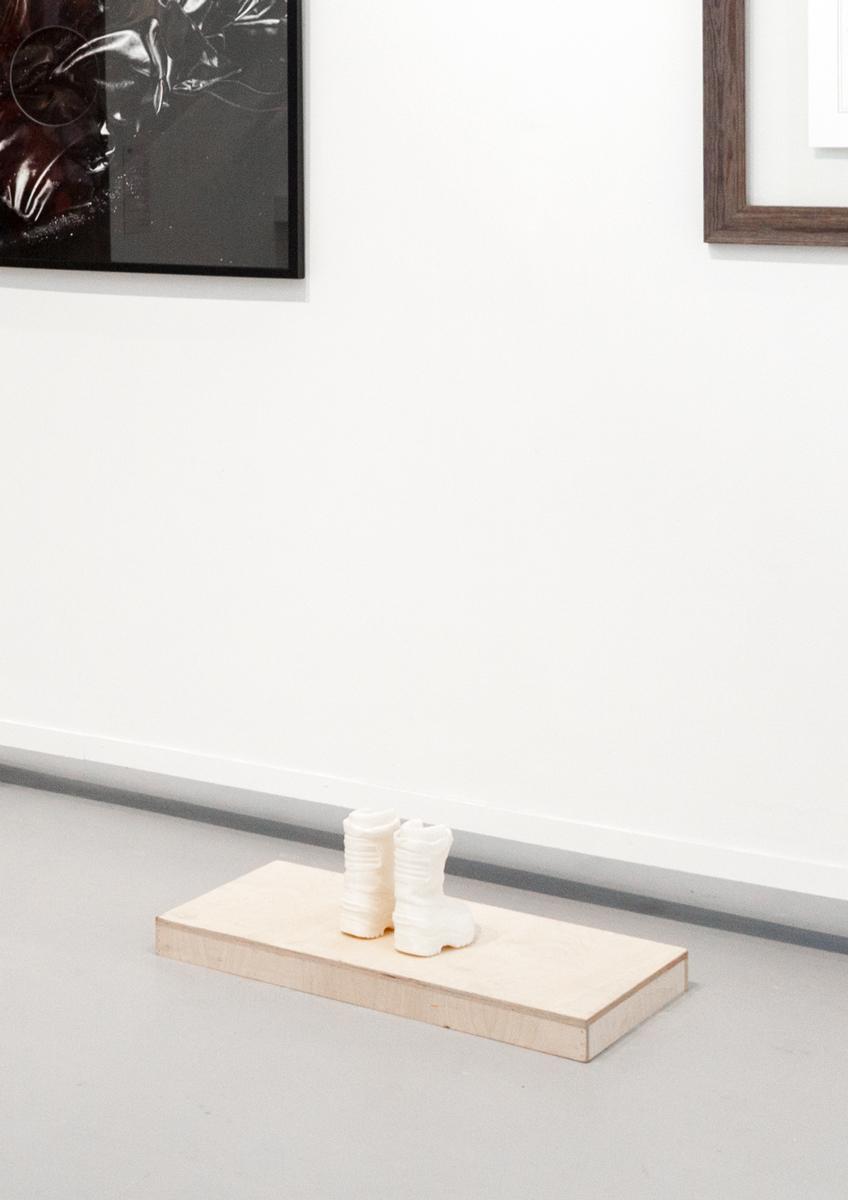 Red room   Black Views (detail) , Ground Floor Exhibition, Hyde Park Art Center