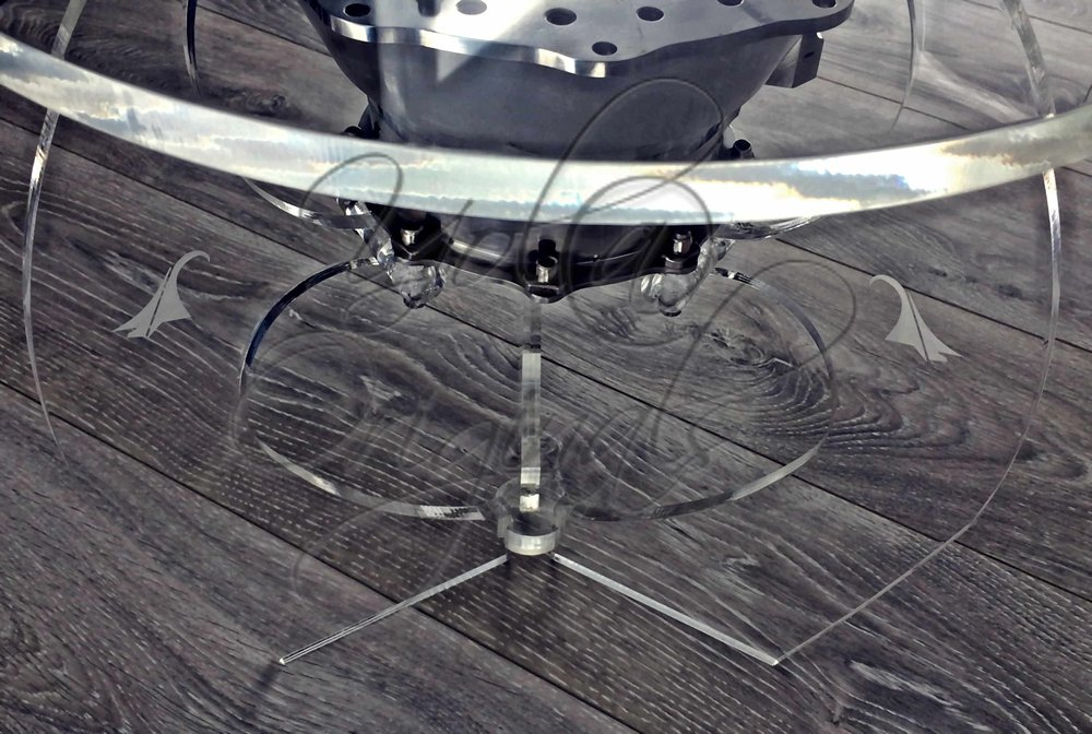 'Flying' Sculpture Table Detail