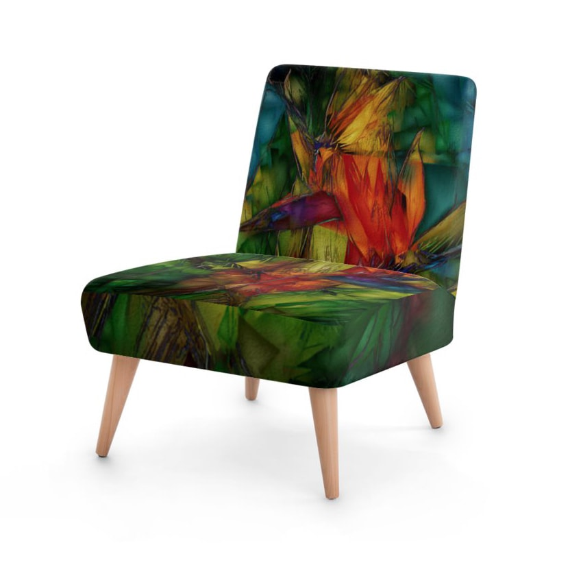 Bird of Paradise Occasional Chair