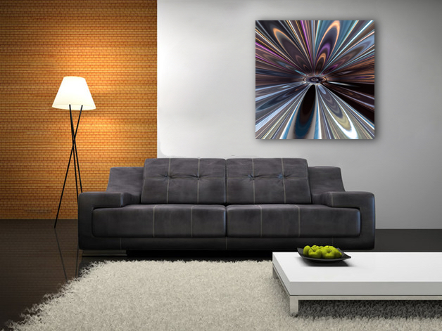 From a Distance abstract artwork available as alu-dibond and metallic fine art prints