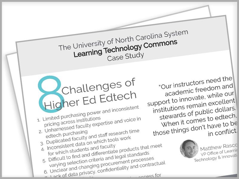 LearnPlatform, UNC System Case Study, EdTech Management, Lea(R)n