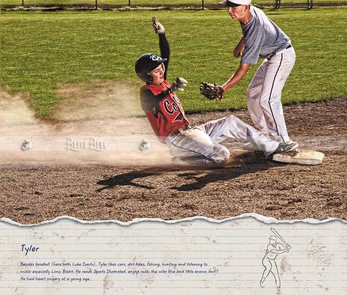 baseball thurston team calendar photo.  Mr. April in High School senior pictures Oregon