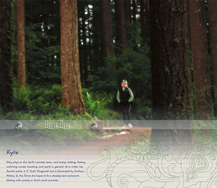eugene oregon hiker in the woods