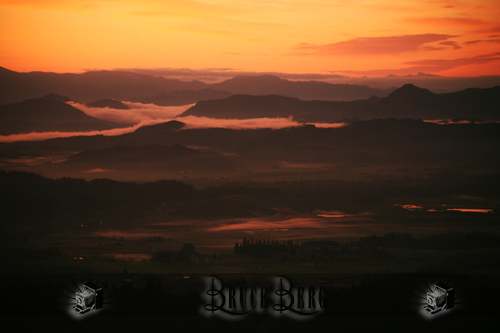 mohawk valley springfield oregon sunrise by bruce berg