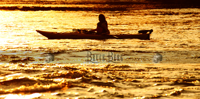 girl sunset kayak eugene high school photos