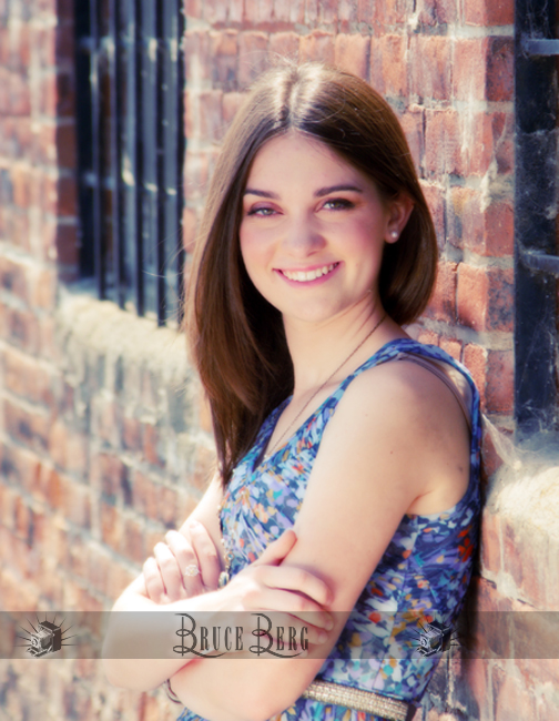 senior hs girl photo eugene