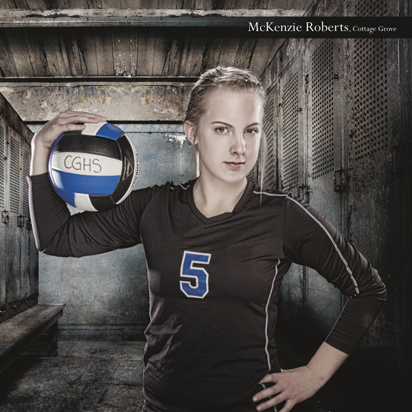 cottage grove high school oregon volleyball player