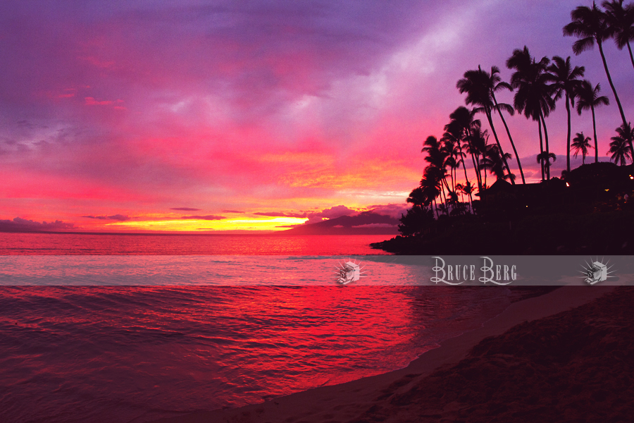 Sunset, Napili Bay, Kaanapali Maui (7bb