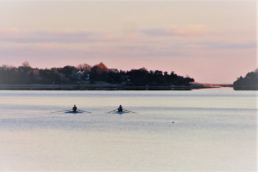 Orleans Sweeps and Sculls   Located on Town Cove in Orleans, competitive and recreational rowers range in age from 6 to over 90 ~ it is never too early or too late to take up the sport!
