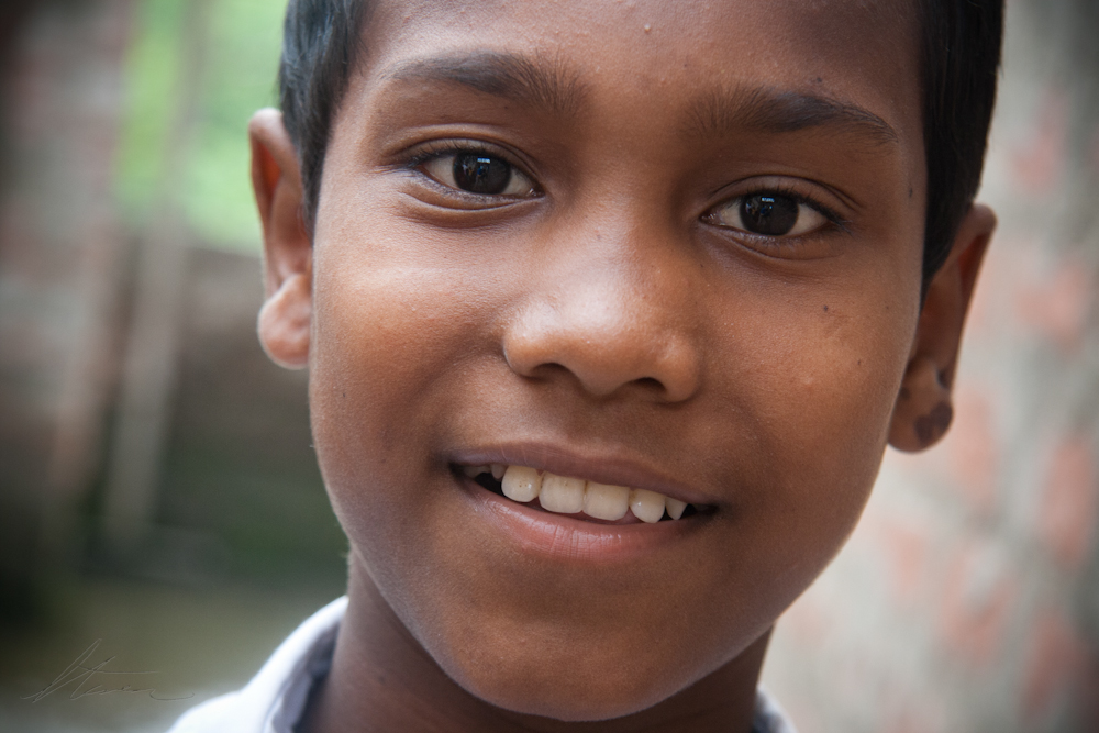Orphan in India
