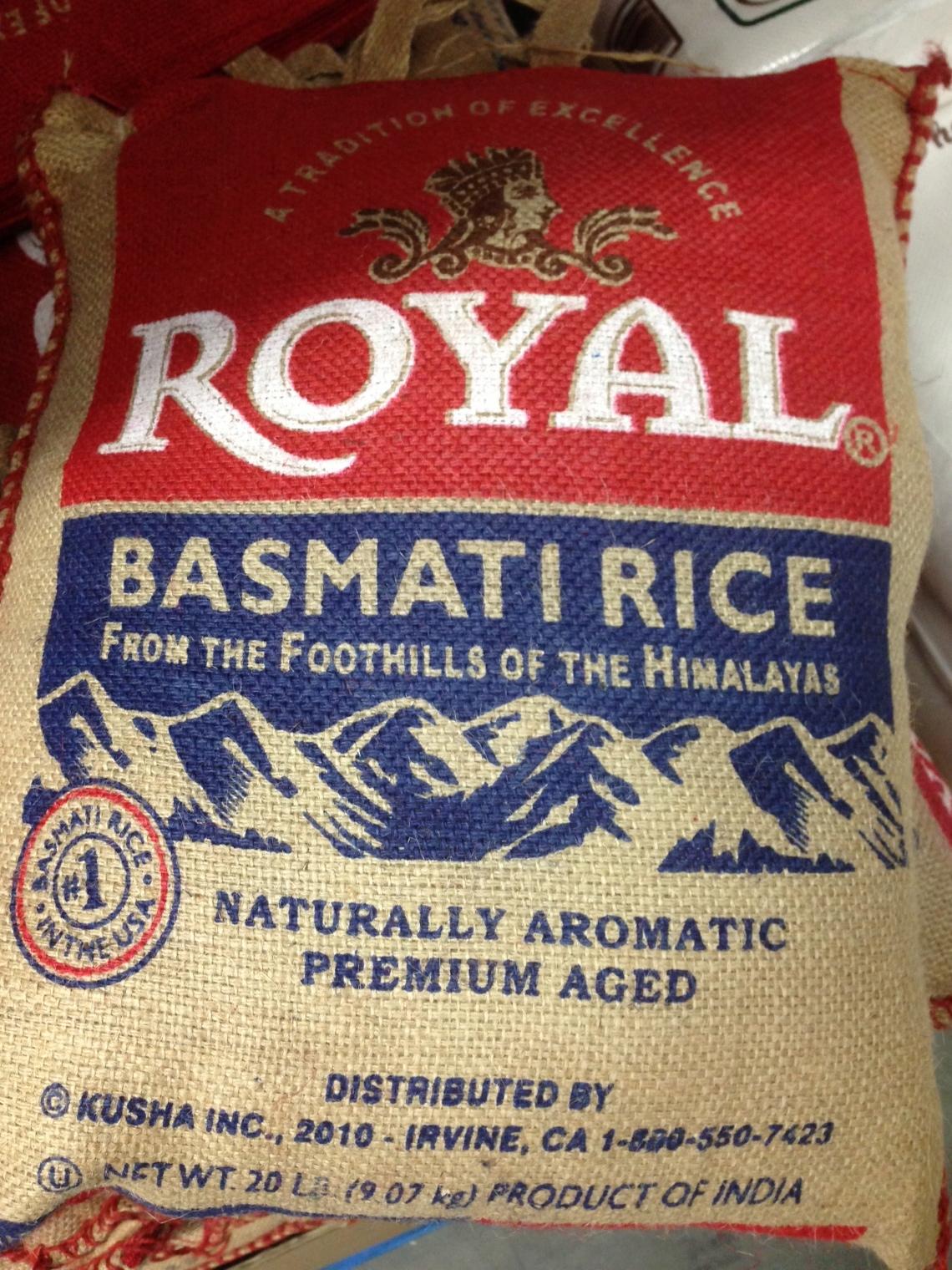 india / basmati rice