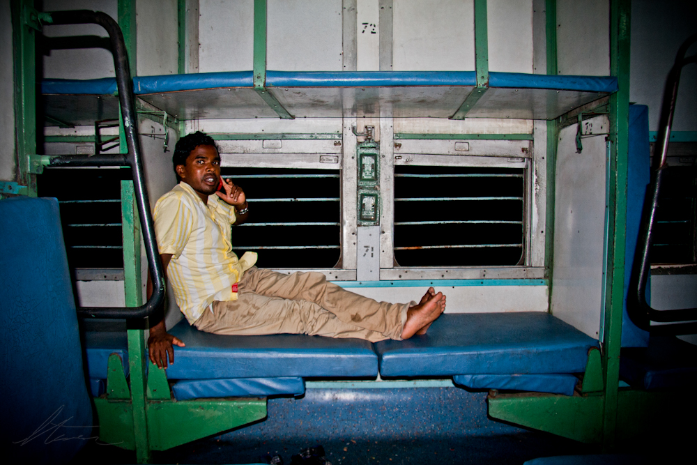 train in india / blog of photographer steven gray