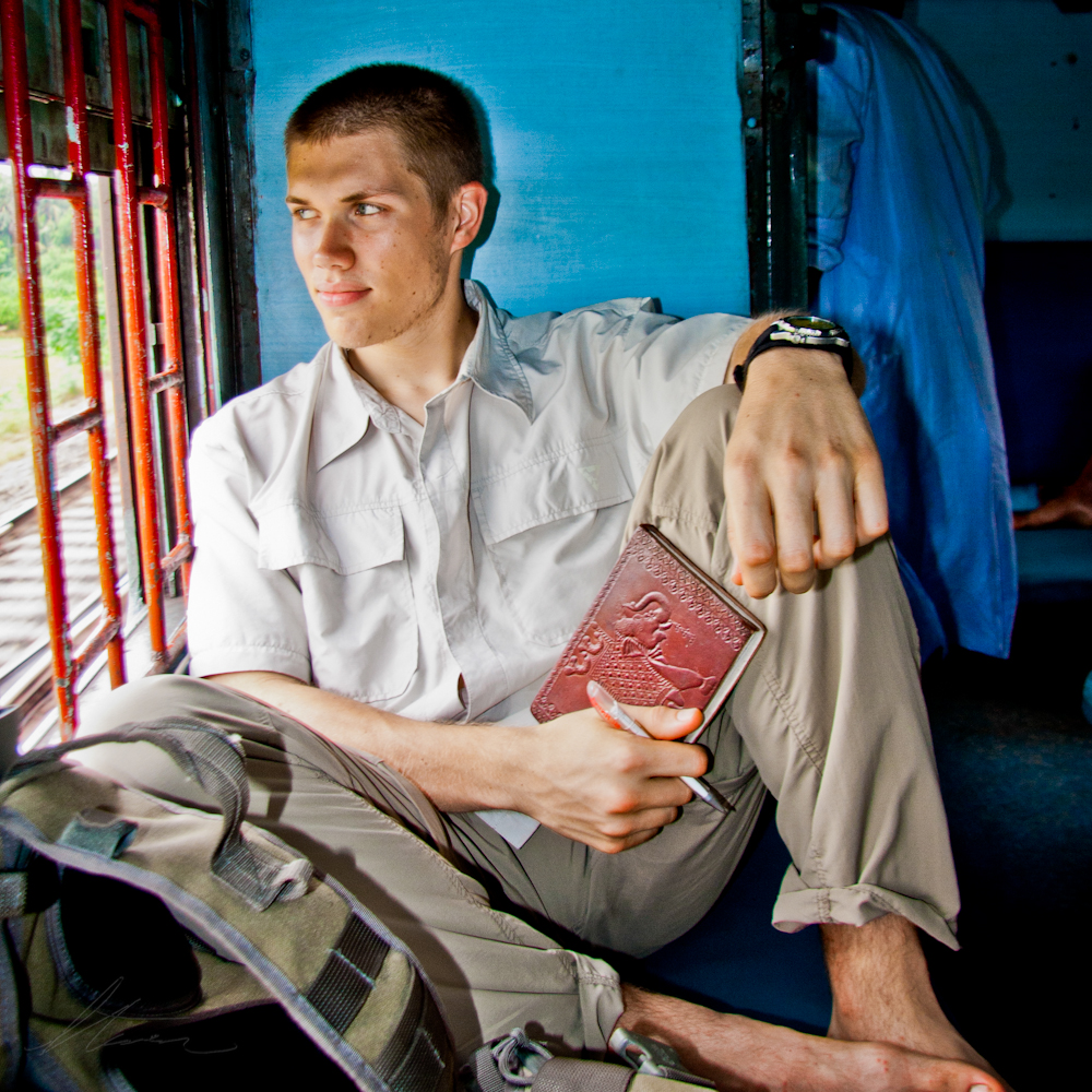 Riding the trains in India