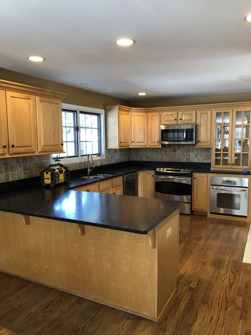 Soapstone Countertops White Kitchens With Dark Brown Beautiful on