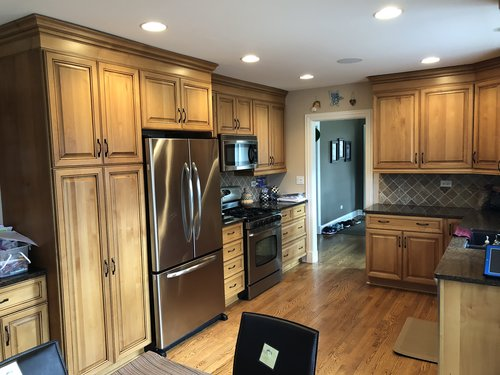 Flash Sale Beautiful Wood Complete Full Kitchen Stainless Steel