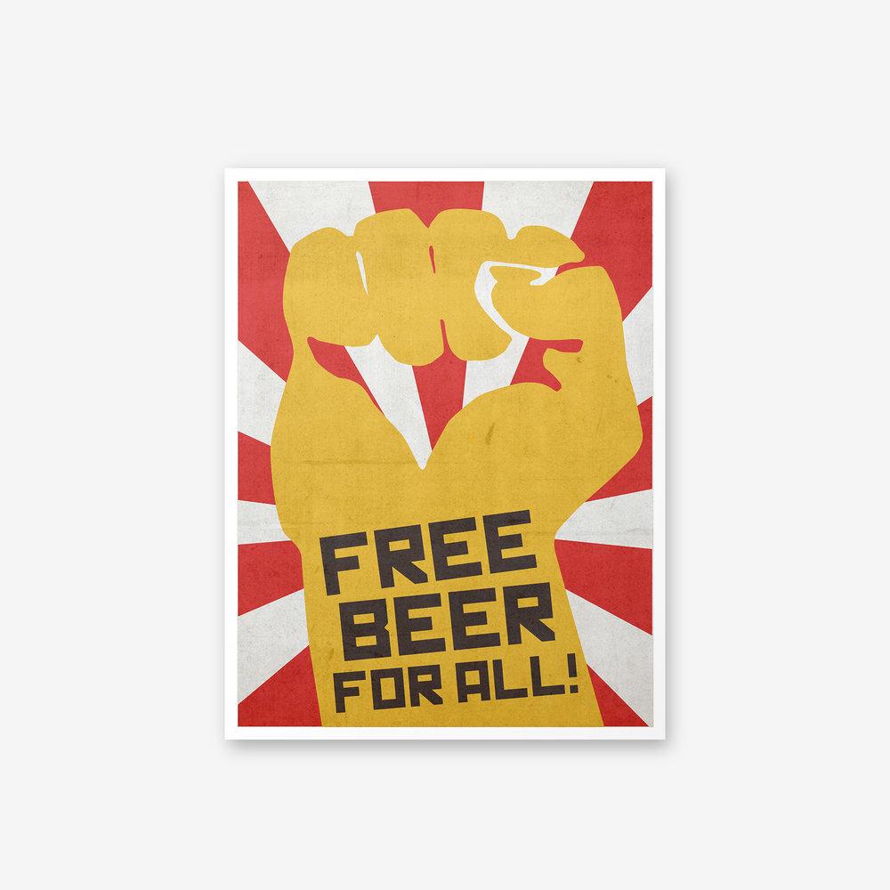 BVH_Posters_Crazy Zone_Free Beer.jpg
