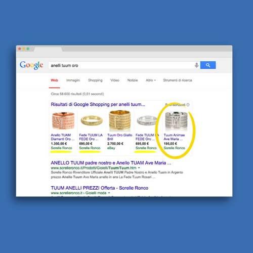 Google mostra i prodotti del tuo e-commerce
