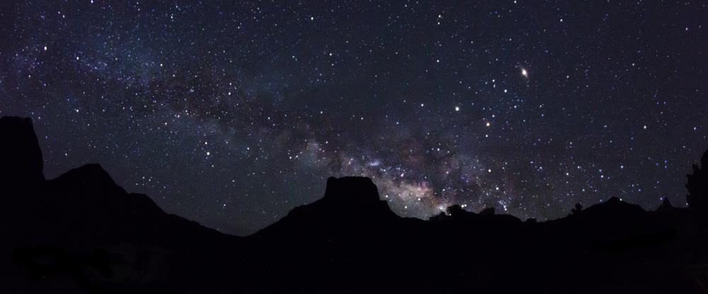 Milky Way over Casa Grande Peak