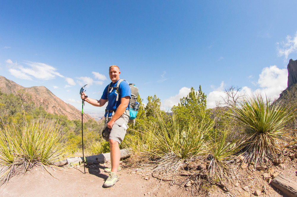 This is Jeremy, one of the fellow hikers we met on the way up to Emory Peak