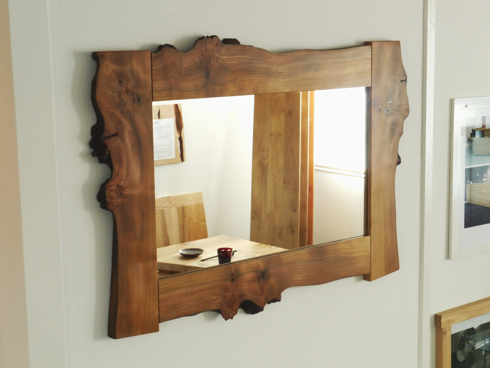Waney Edge Elm Mirror.JPG