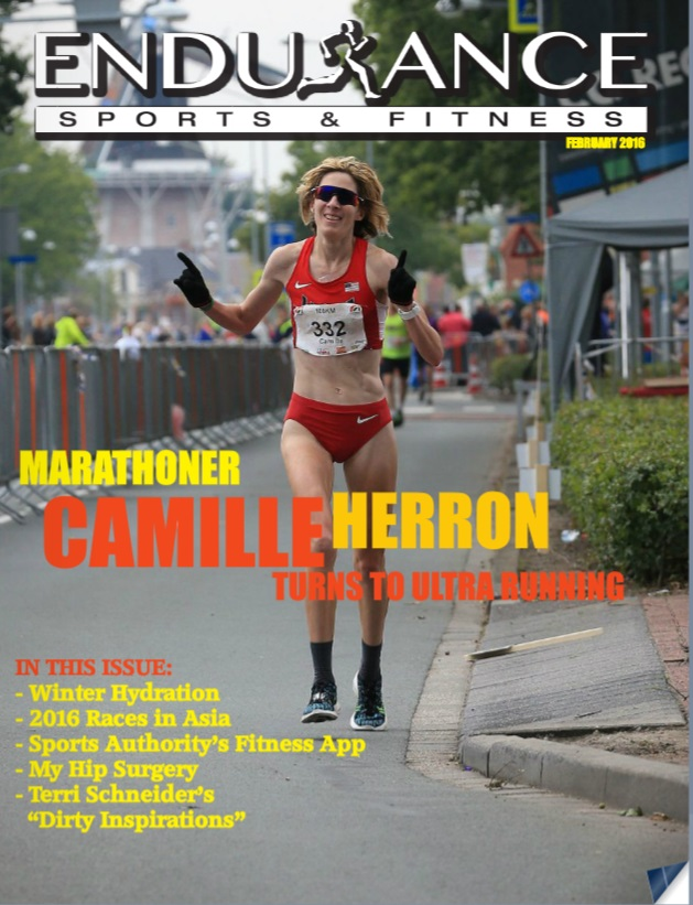 Check out Feb. 2016 Endurance Sports and Fitness Magazine!!!