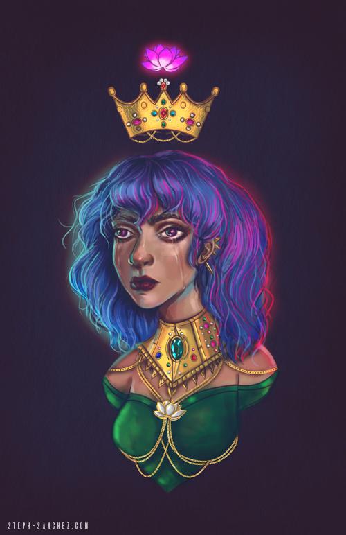 Lotus Flower Queen