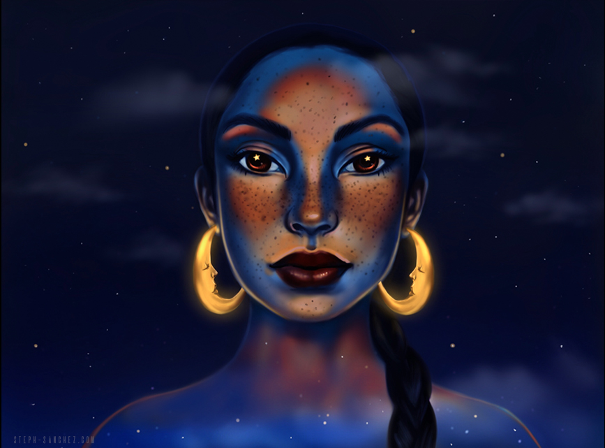(Sade) The Moon and the Sky