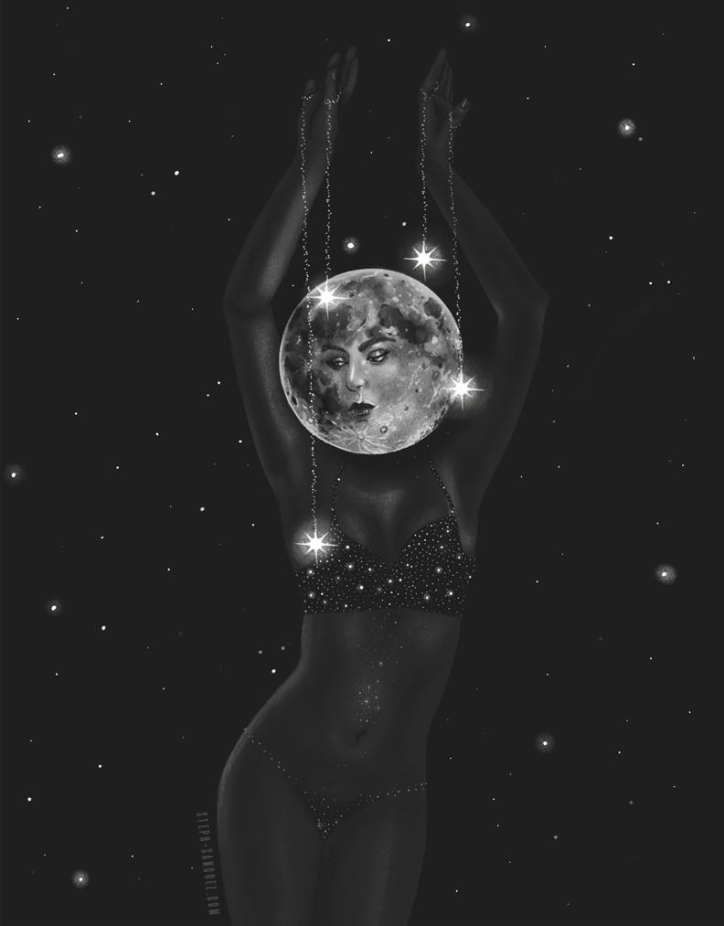 The Dancing Moon