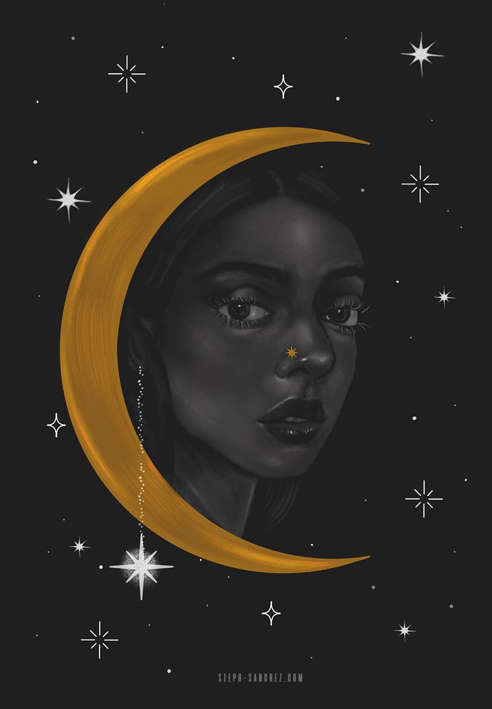 Crescent moon ll